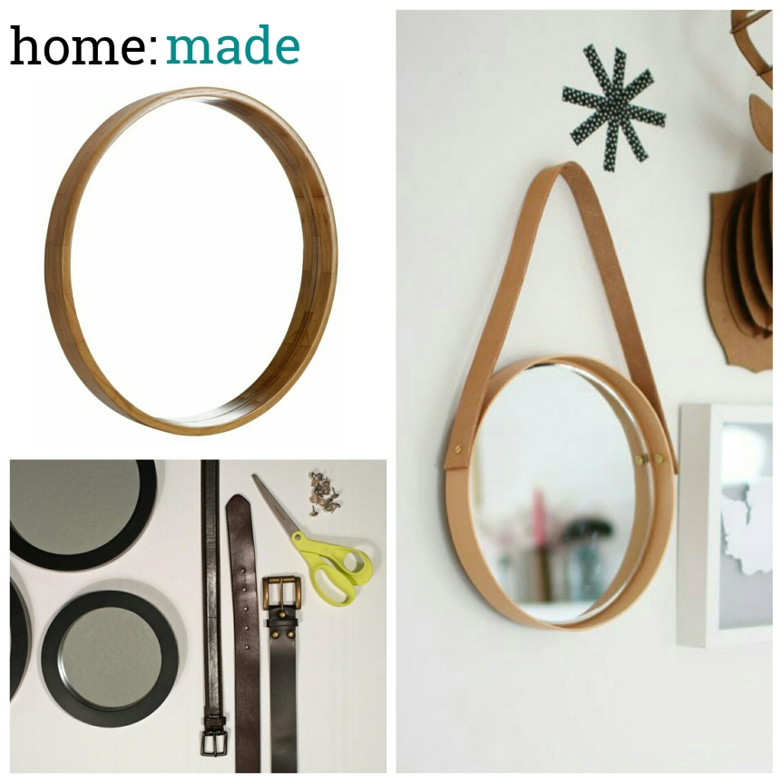 home: made [ hanging mirror]
