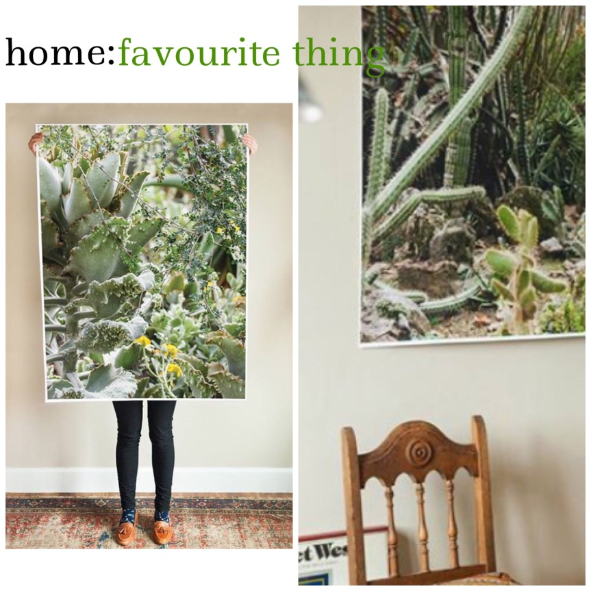 home: favourite thing [ printable art ]