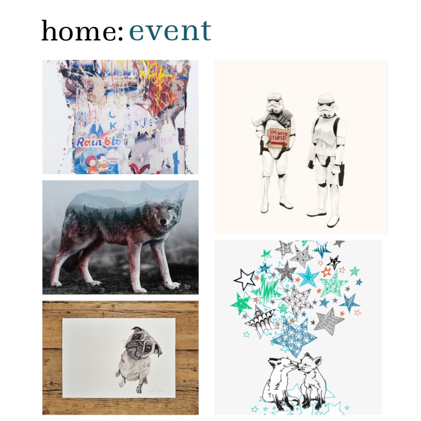 home: event [ ArtSnug at West Elm ]