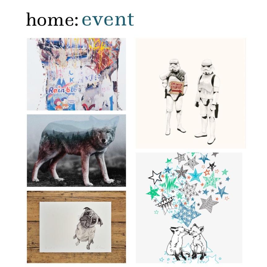 home: event [ ArtSnug at West Elm ]