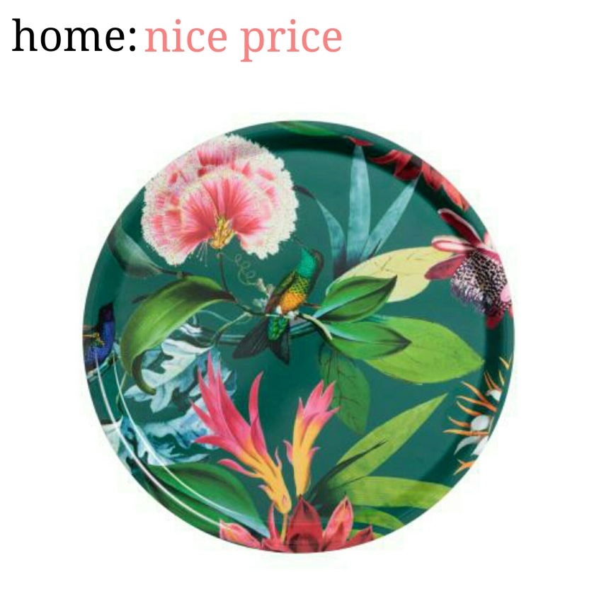 home: nice price [ tropical tray ]