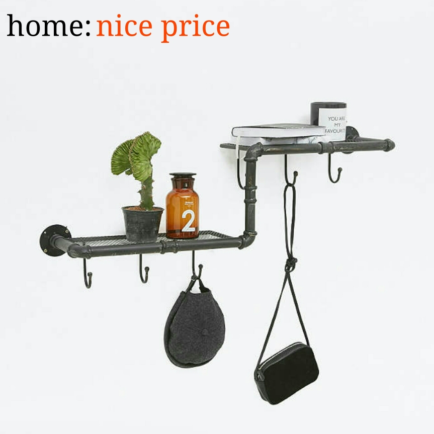home: nice price [ z-pipe shelf ]