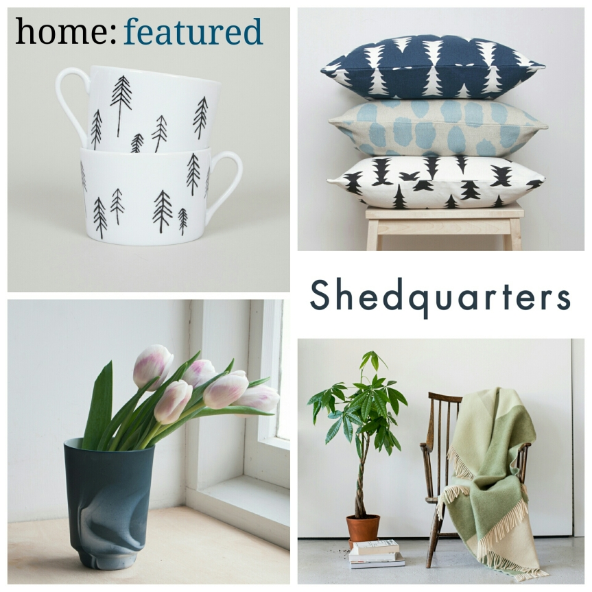 home: featured [ Shedquarters ]