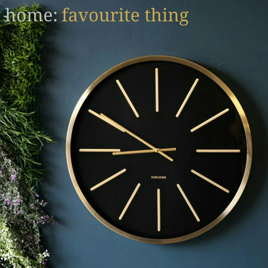 home: favourite thing [ clock]