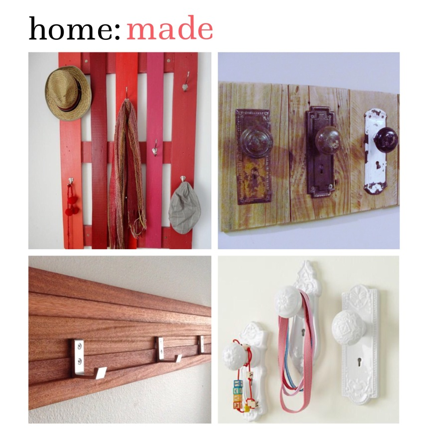 home: made [ hallway hooks ]