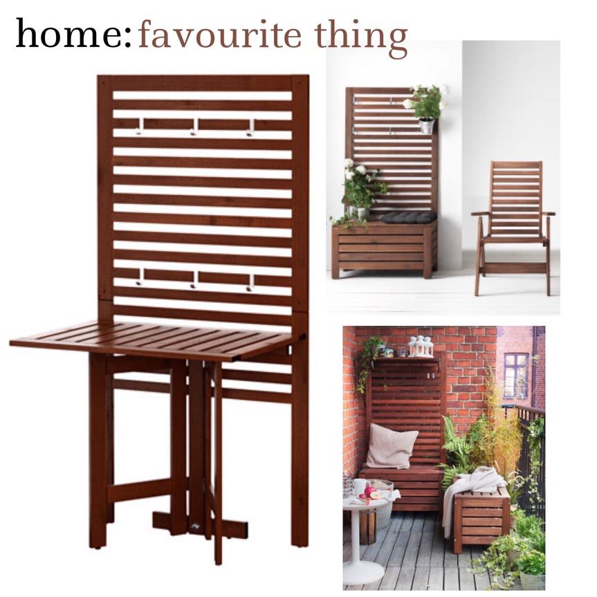 home: favourite thing [ outdoor dining ]