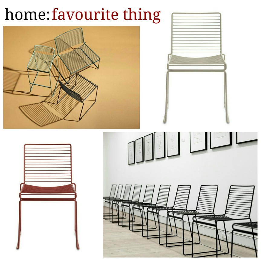home: favourite things [ chair ]