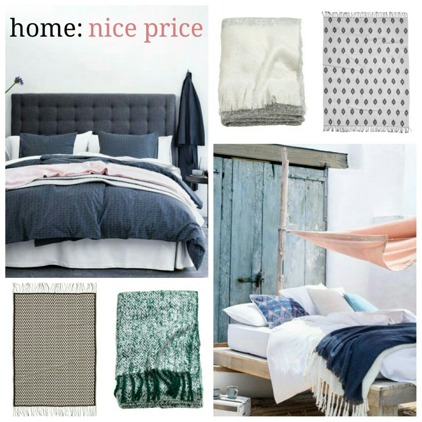 home: nice price [ blankets ]