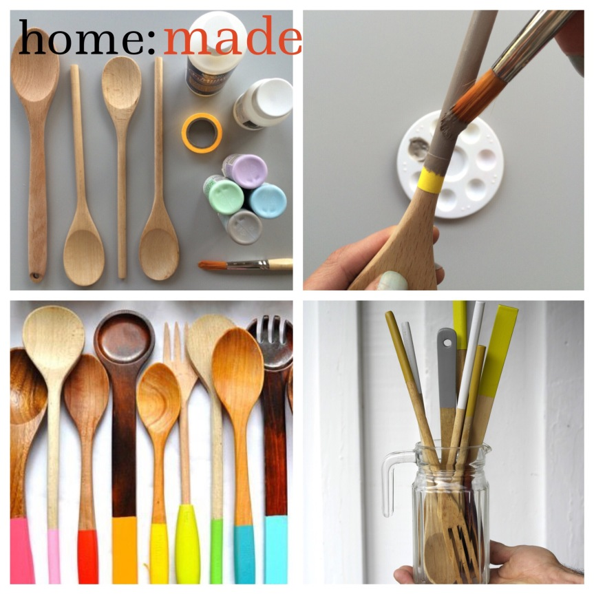 home: made [ dipped spoons ]