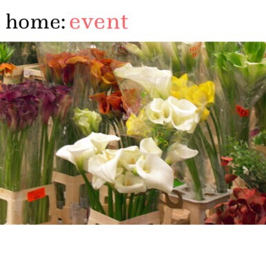 home: event [ flower arranging ]