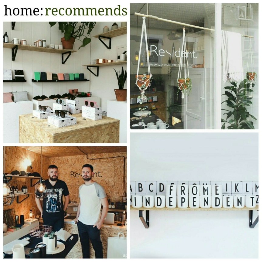 home: recommends [ Resident ]
