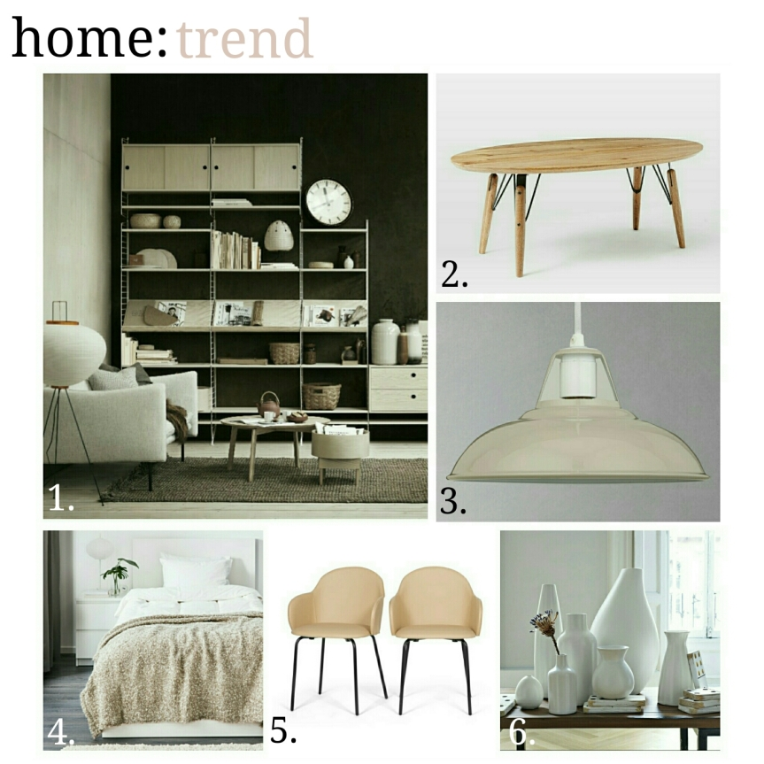home: trend [ natural tones ]