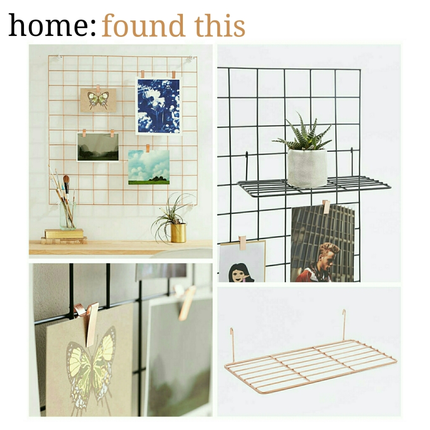 home: found this [ frame & shelving ]