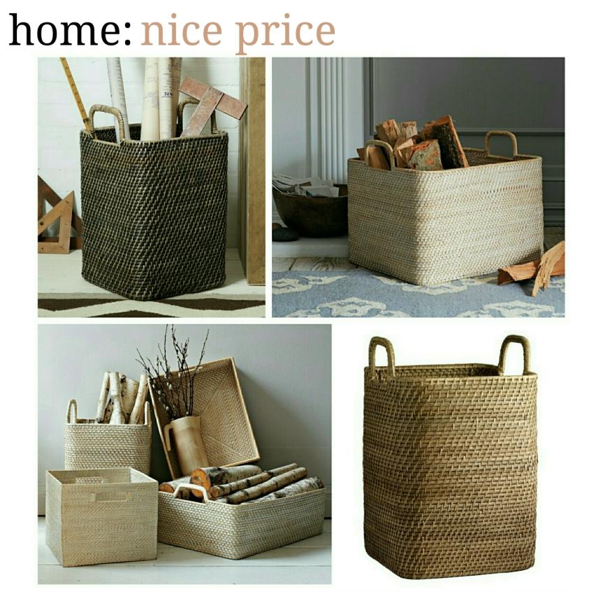 home: nice price [ baskets]
