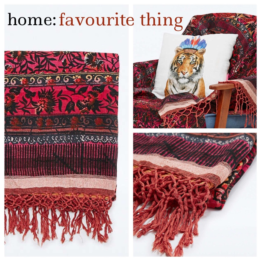home: favourite thing [ bohemian blanket ]