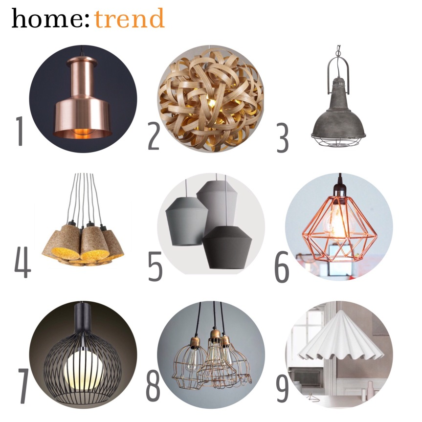 home: trend [ pendant lighting ]