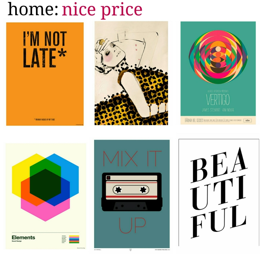 home: nice price [ prints ]