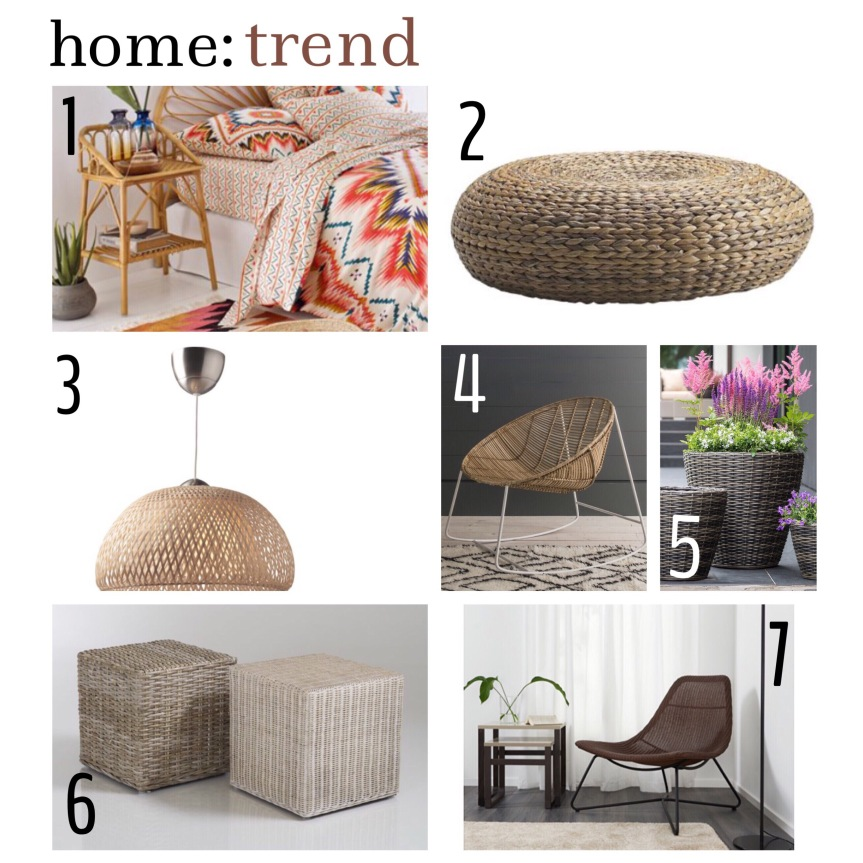 home: trend [ rattan ]