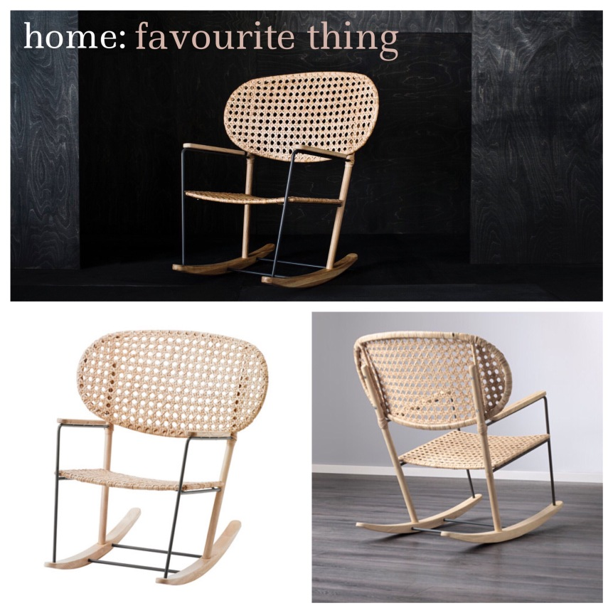 home: favourite thing [ IKEA rocking chair ]