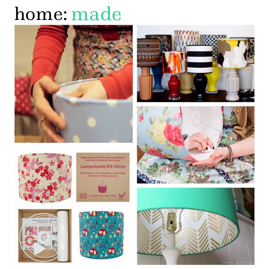 home: made [ lampshades ]