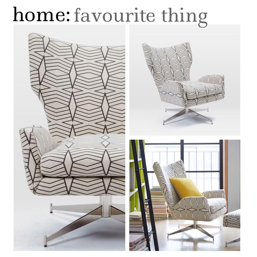 home: favourite thing [ swivel chair ]