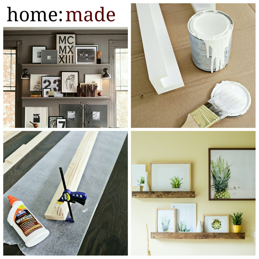 home: made [ picture ledge]