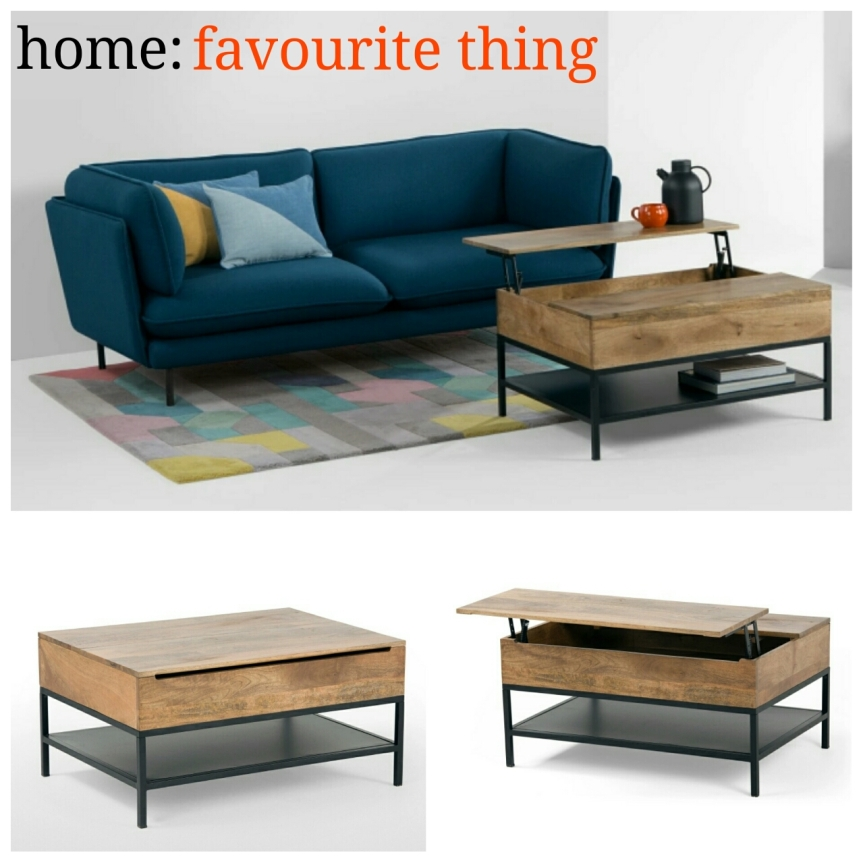 home: favourite thing [ coffee table ]