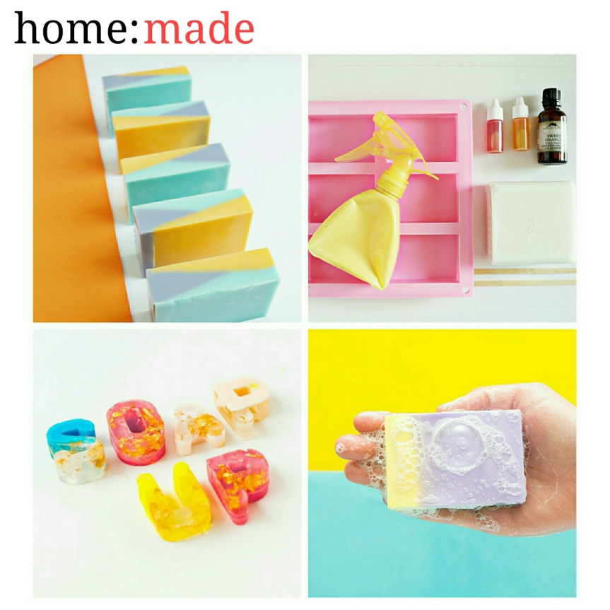 home: made [ soap]
