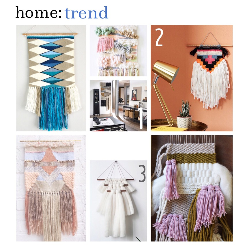home: trend [ wall hangings ]