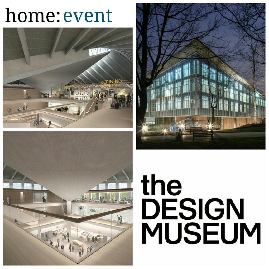 home event the design museum home blog