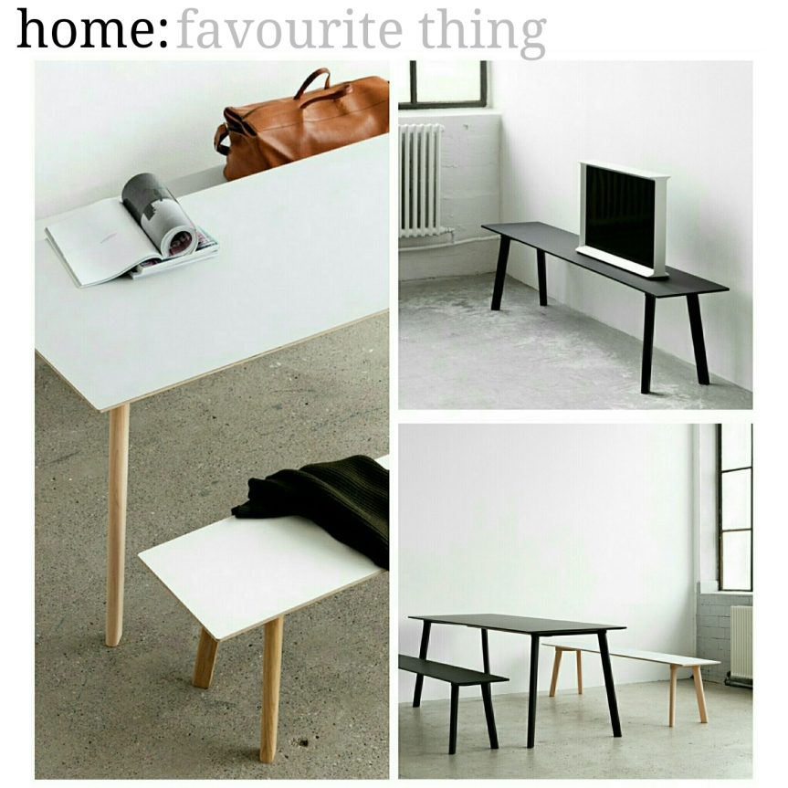 home: favourite thing [ dining table]