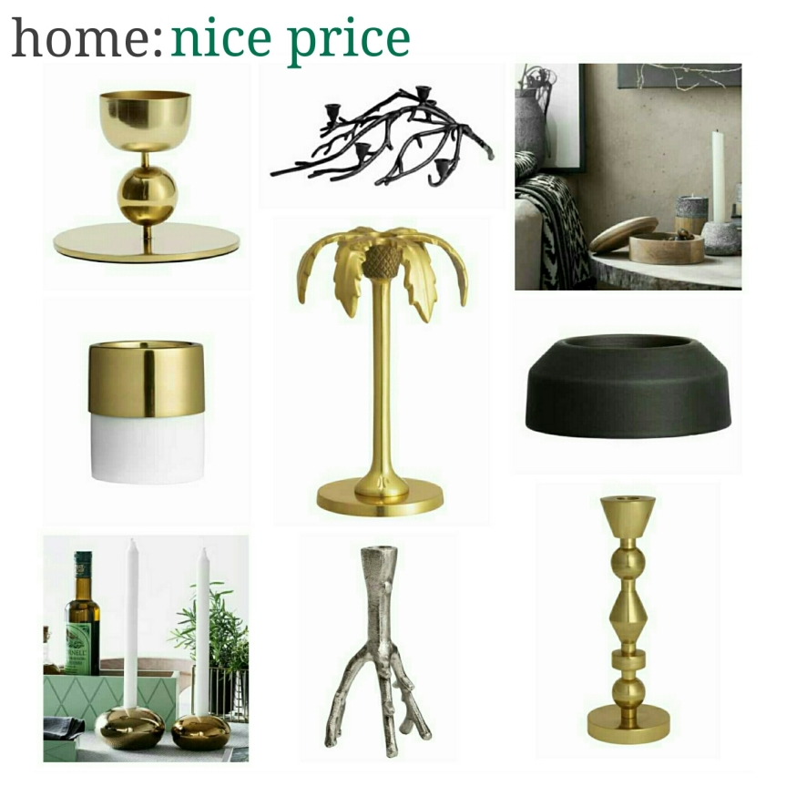 home: nice price [ candle holders ]