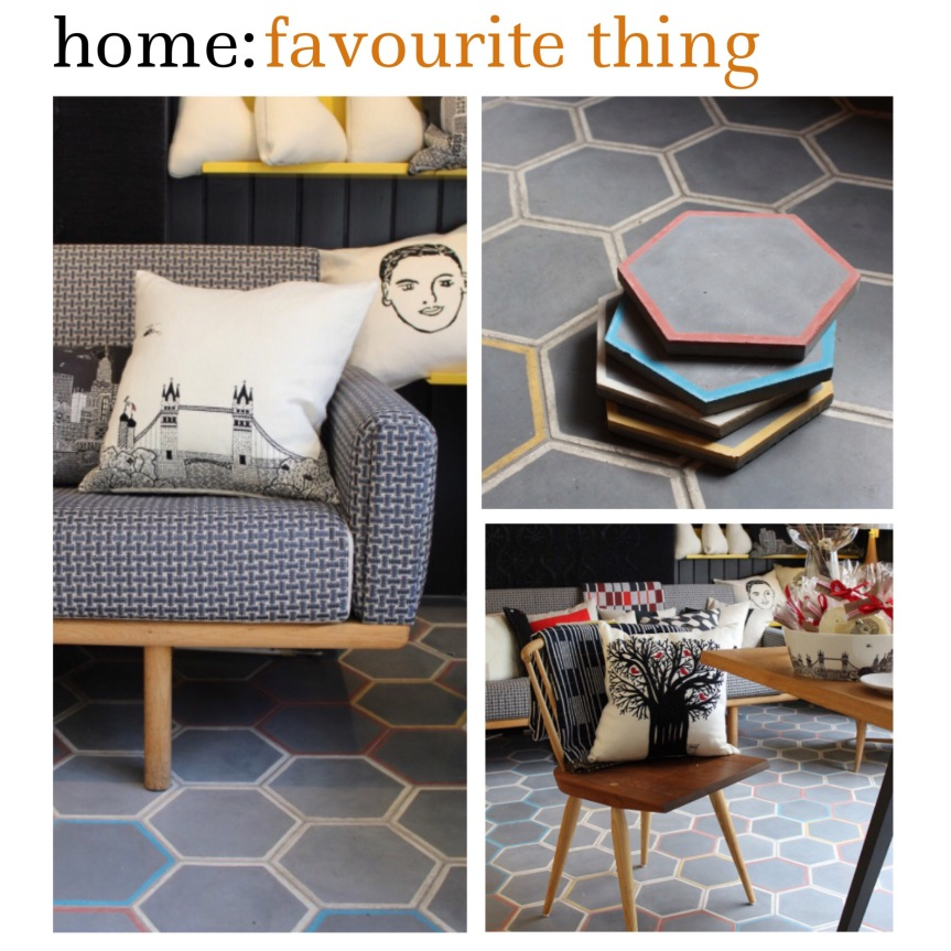home: favourite thing [ tiles ]