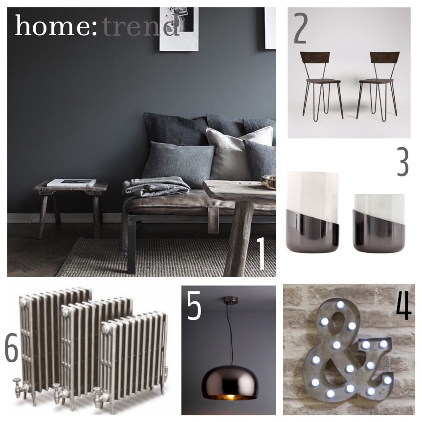 home: trend [ gunmetal silver ]