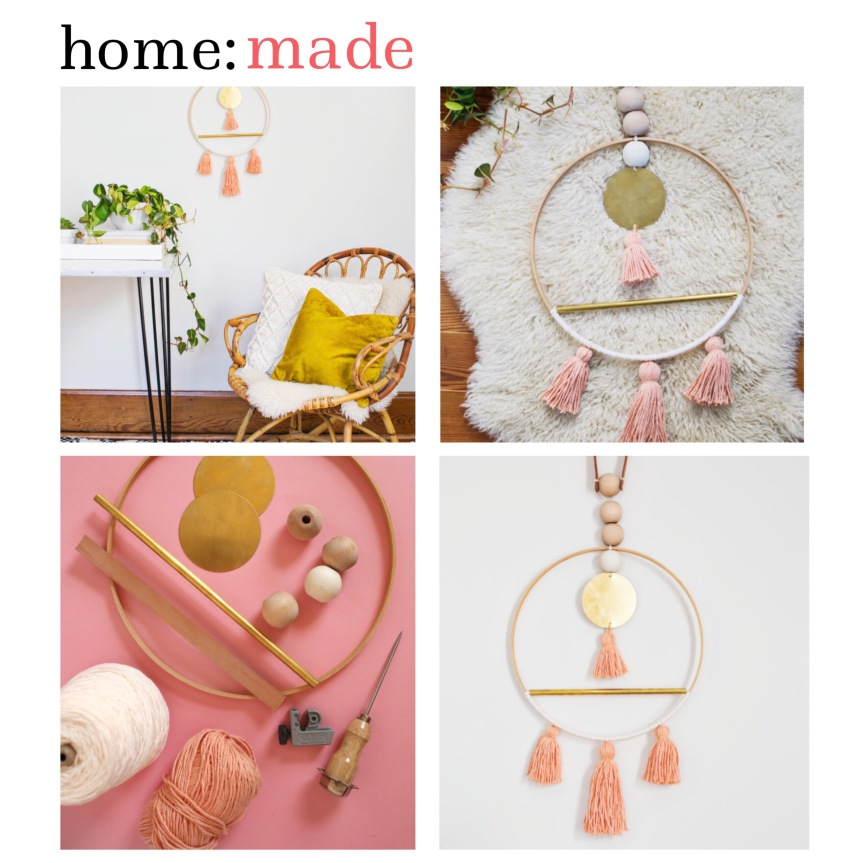 home: made [ scandi wall hanging ]