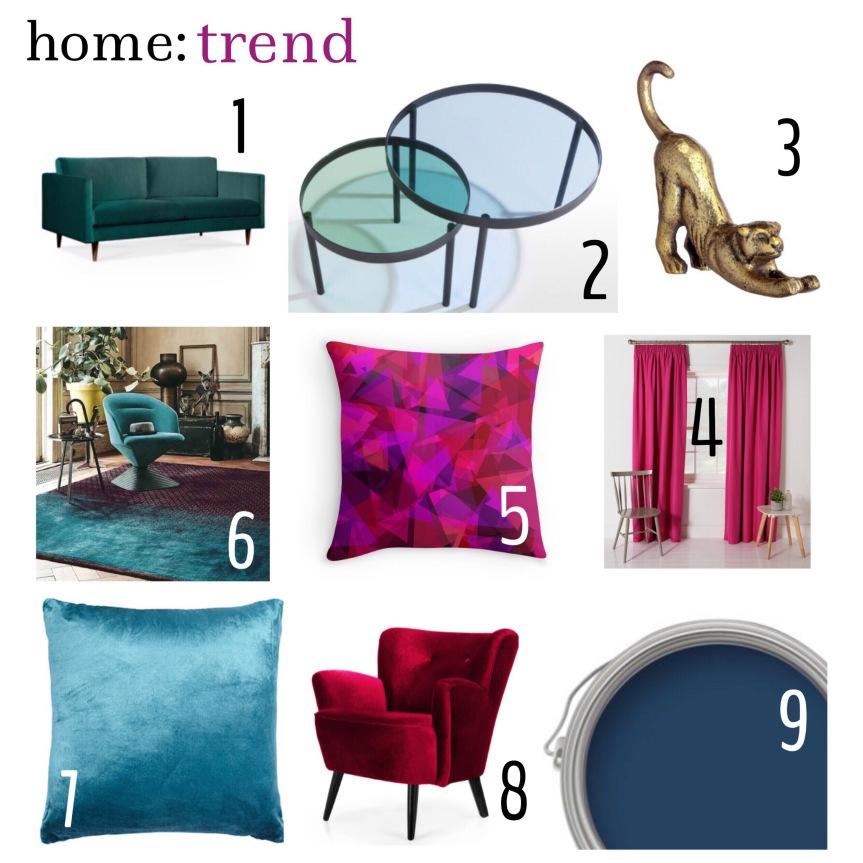 home: trend [ jewel tones ]