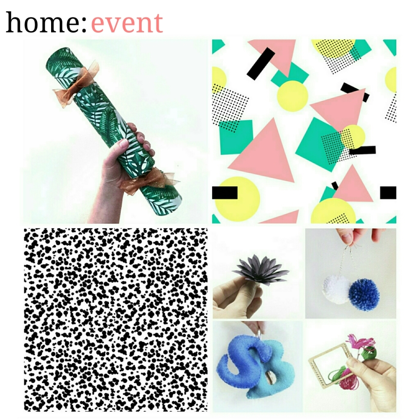 home: event [ Christmas crafting ]