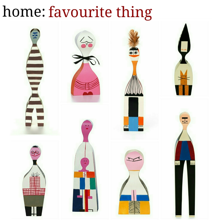 home: favourite thing [ Vitra dolls ]