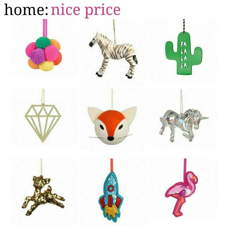 home: nice price [ decorations ]
