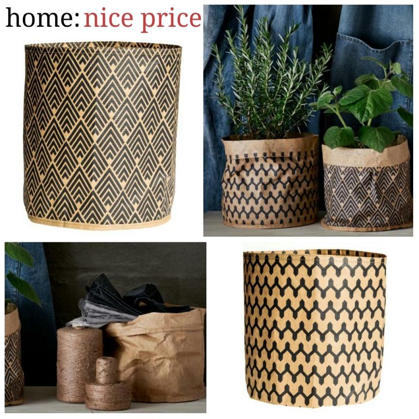 home: nice price [ paper sacks]