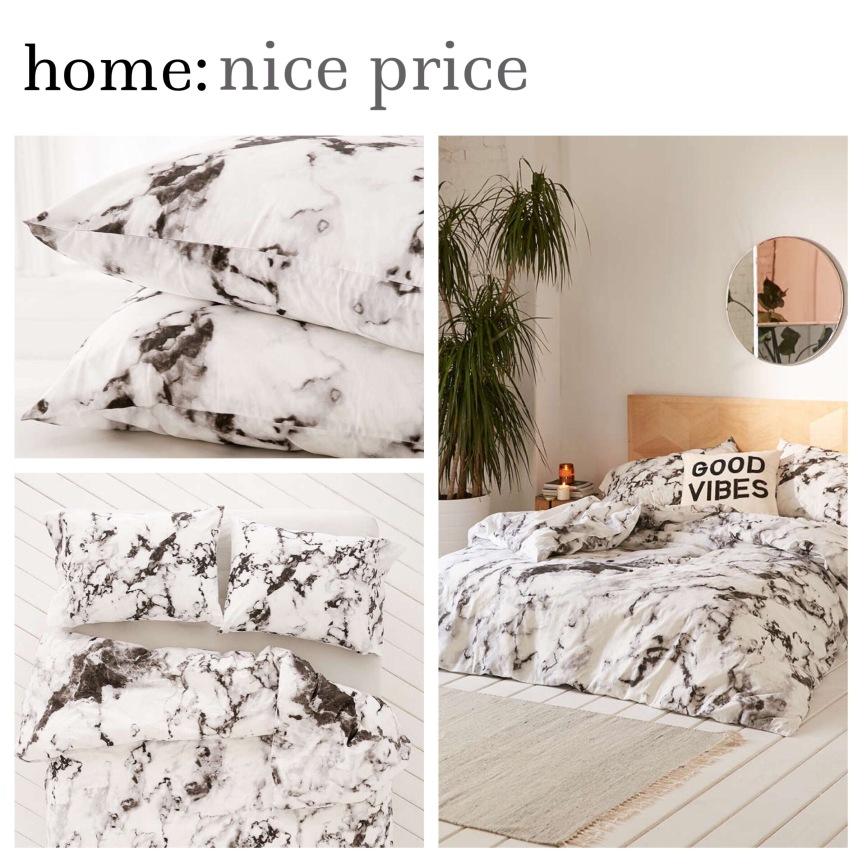 home: nice price [ marble bedding ]