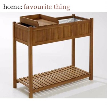 home: favourite thing [ planter table unit ]