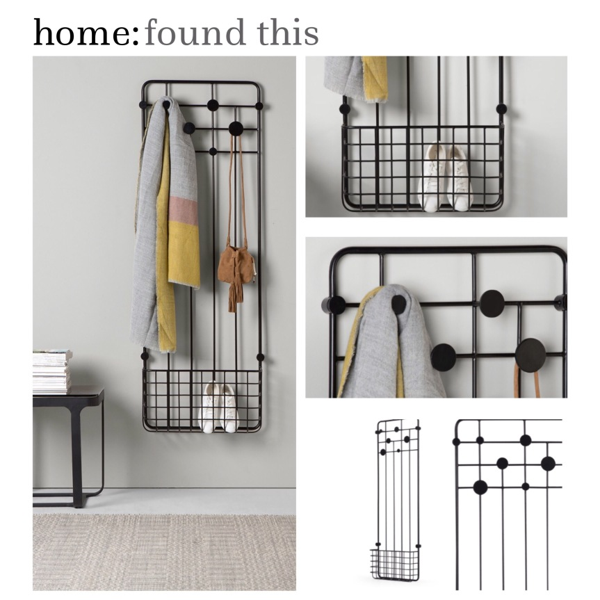 home: found this [ coat rack ]