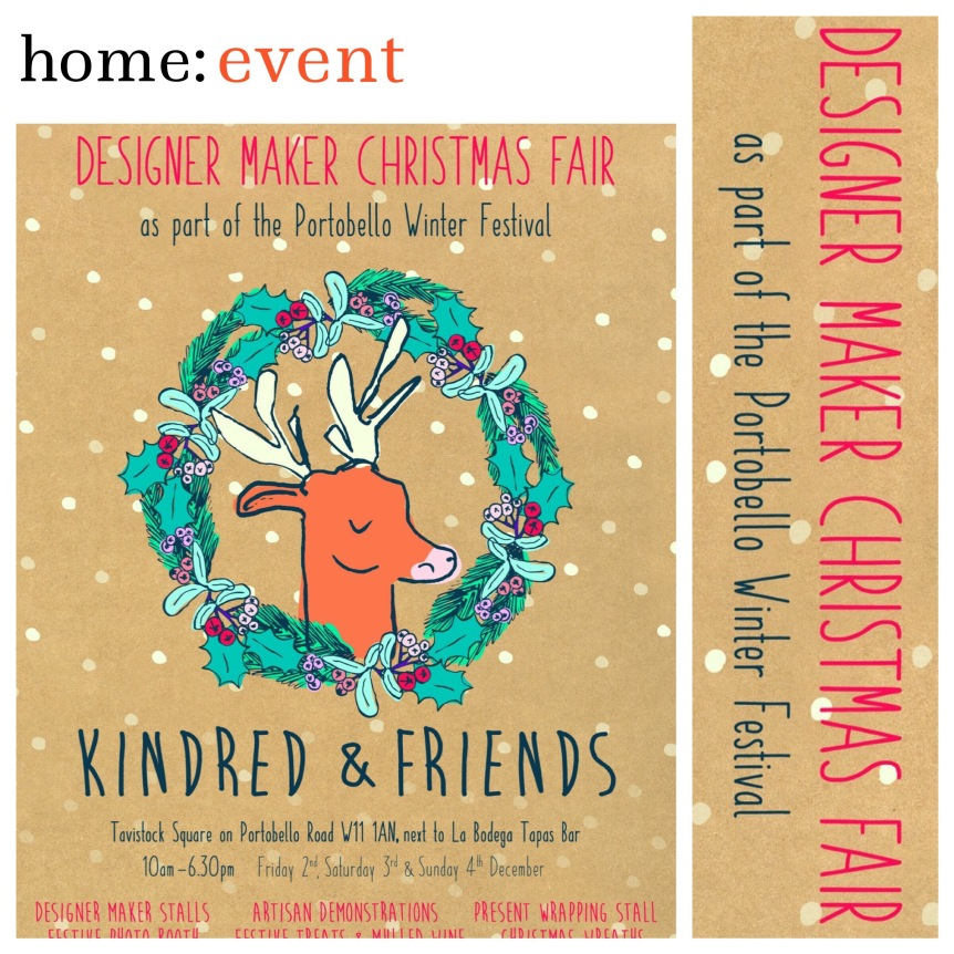 home: event [ designer maker Christmas Fair ]