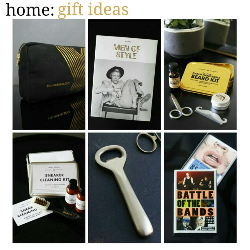 home: gift ideas [ for him ]
