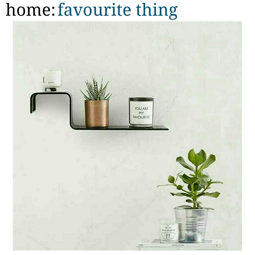 home: favourite thing [ shelf]