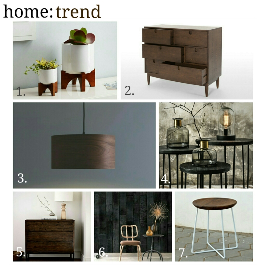 home: trend [ dark timbers]