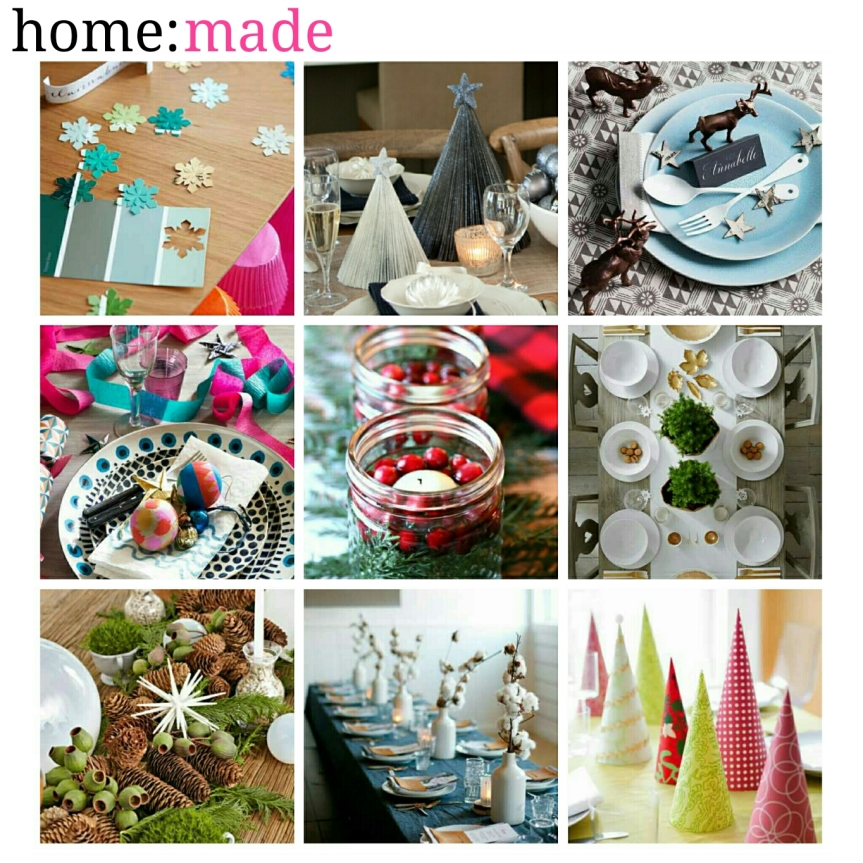 home: made [ table decoration ]