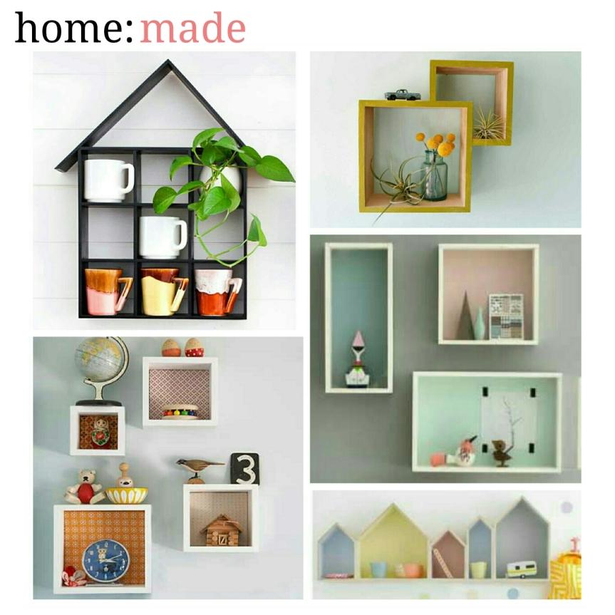 home: made [ floating shelves]