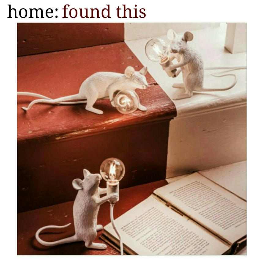 home: found this [ mouse lamp ]